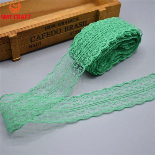 Lace Trim Fabric