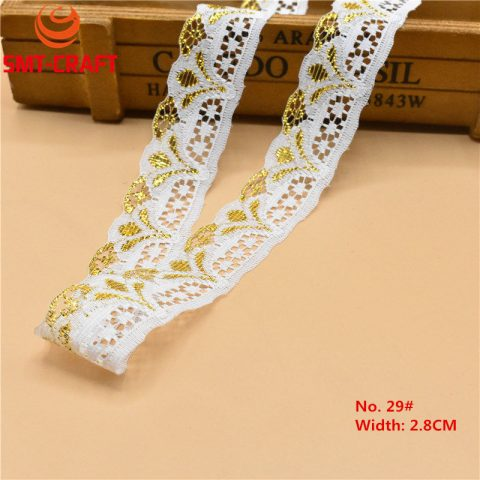 White Lace Ribbon