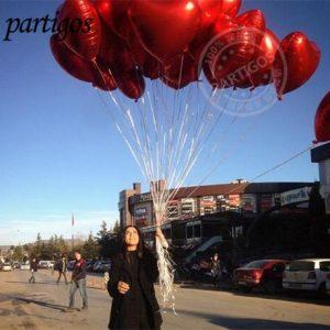 Heart Helium Balloons