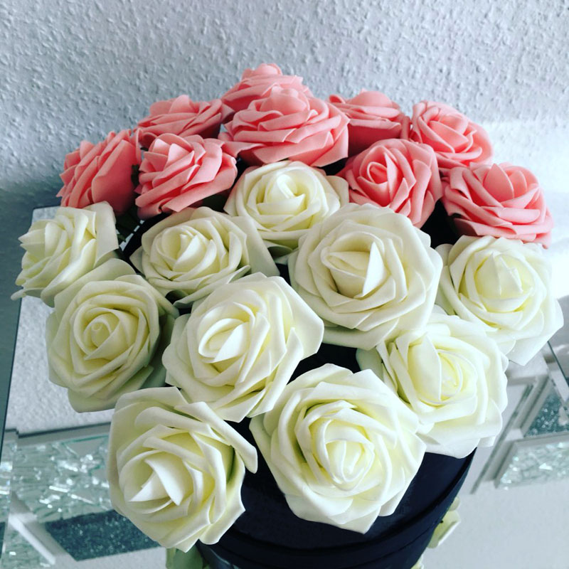 10 Heads Artificial Rose Flowers DIY Home Decor - BestHouseProducts.com