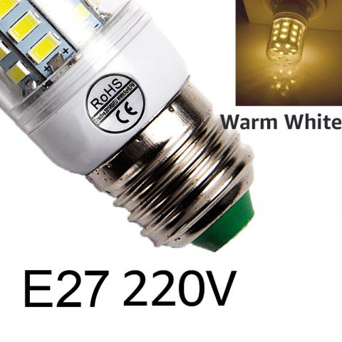 220V Corn Bulb