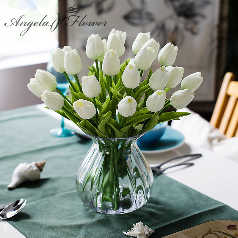 Mini tulip flower real touch artificial silk flowers real touch artificial silk flowers mini tulip flower mightylinksfo