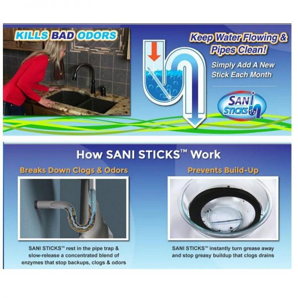 Sani Sticks Sewage