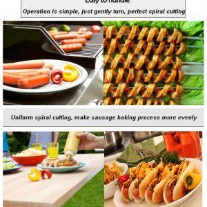 Fancy Sausage Cutter