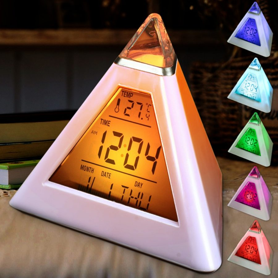 Colour Digital Clock