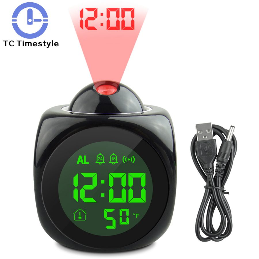 Projection Led Clock
