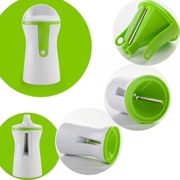 Portable Spiralizer Vegetable Slicer