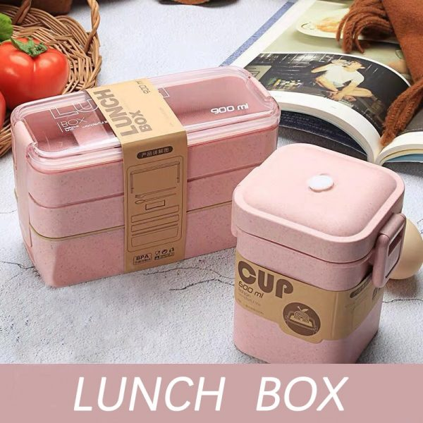 Healthy Material Lunch Box
