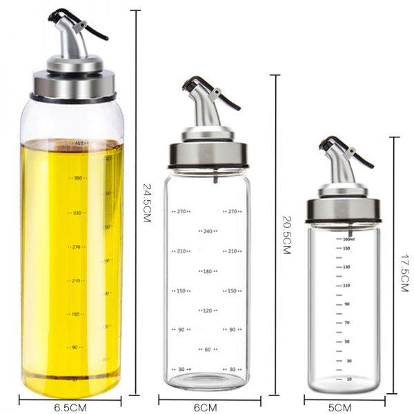 Seasoning Bottle Dispenser Storage Bottles