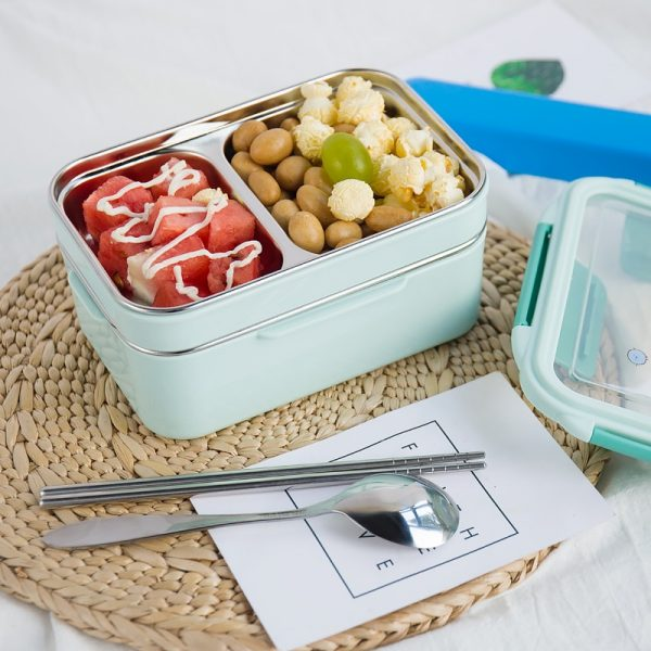 Cartoon Lunch Box Kids Food Container