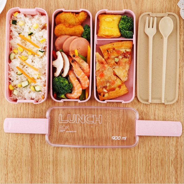 Lunch Box Food Container Microwavable