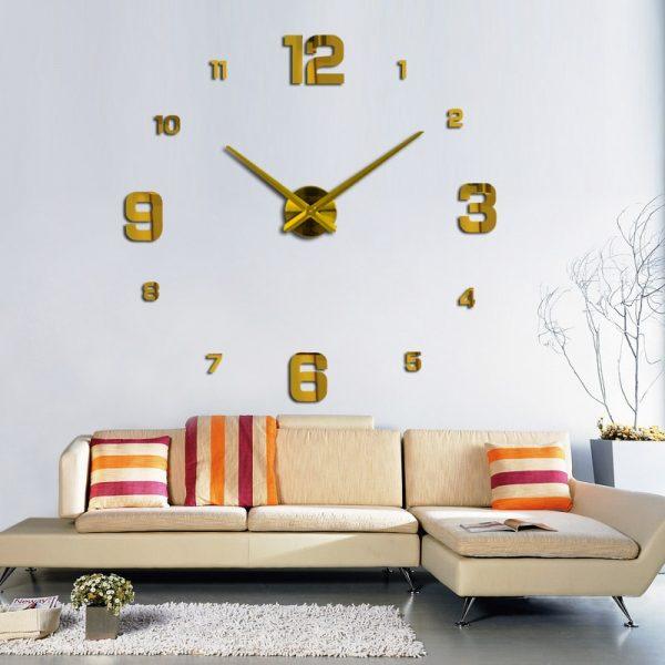 Large Wall Watch 3d Wall Clocks