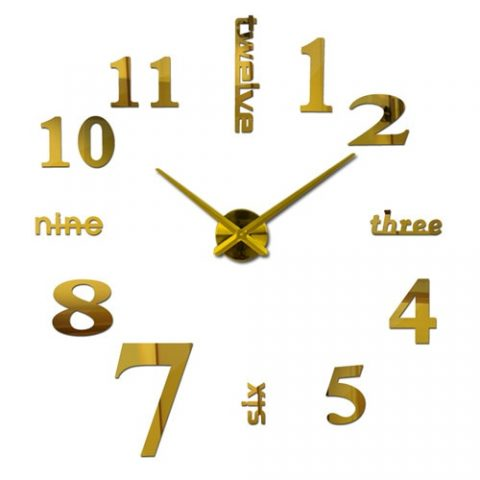 Home Wall Stickers Wall Clock
