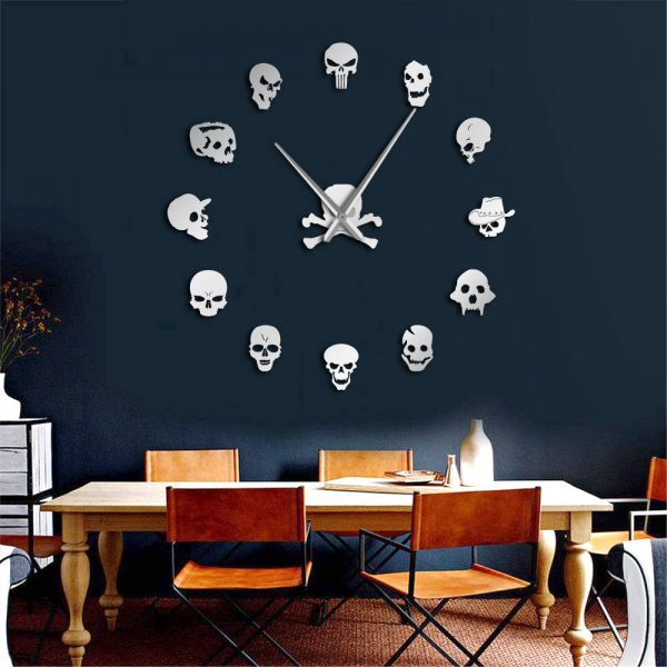 Horror Wall Art Giant Wall Clock