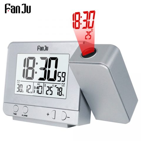 Projection Alarm Clock Function Backlight