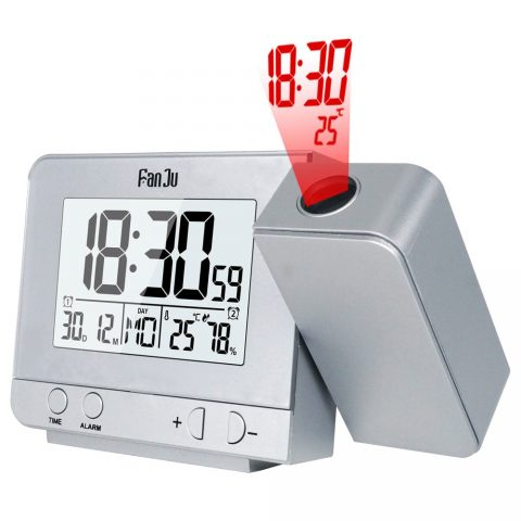 Projection Alarm Clock Function Backlight