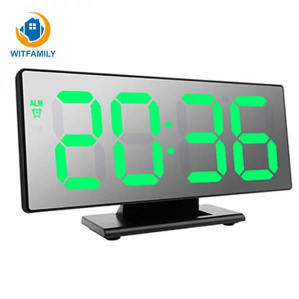 Electronic Watch Temperature Display