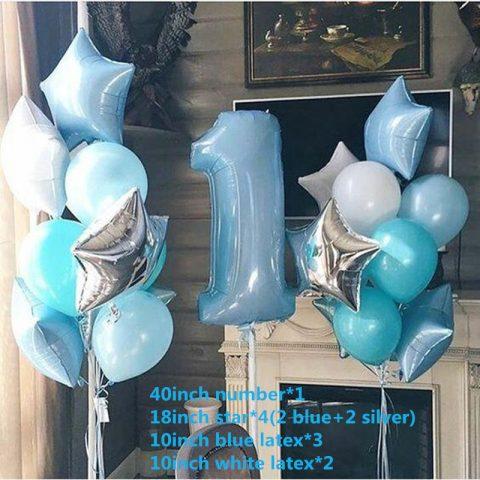 Happy Birthday Balloon Air Letters