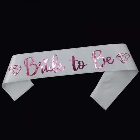 Diamond Ring Hen Party Sash