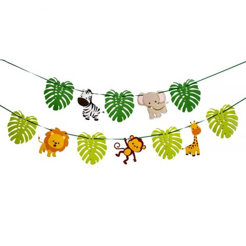 Birthday Jungle Party Animal Balloons