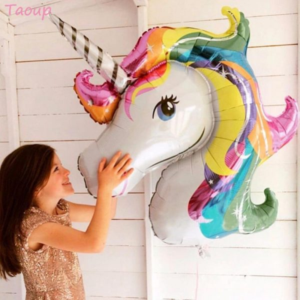 Unicorn Party Supplies Cake Topper