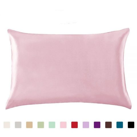 100% Queen Silk Soft Pillowcase