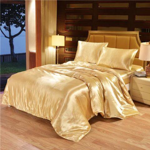 King Double Satin Silk Luxury Bedding