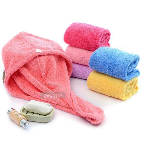 Girl's Hair Drying Hat Hair Towel