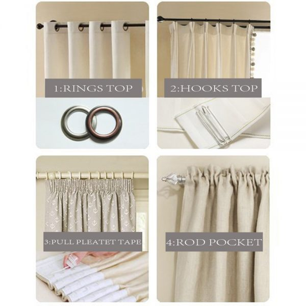 Modern Blackout Curtains for Window