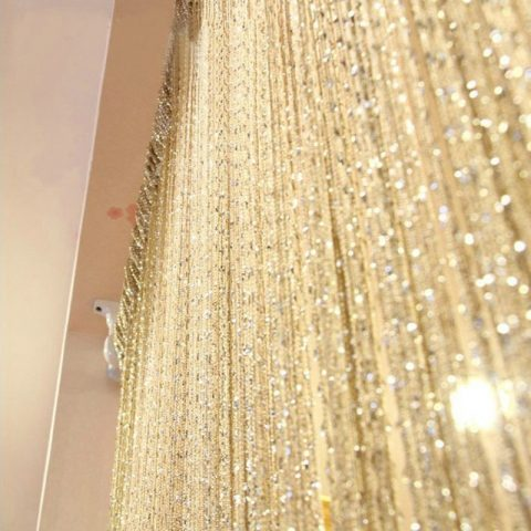 Luxury Crystal Curtain Door Curtains