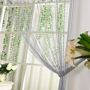 Line Curtain Modern Dyed Curtains