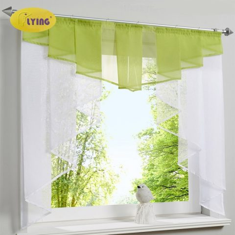 Tulle Kitchen Curtain Yarn Curtains