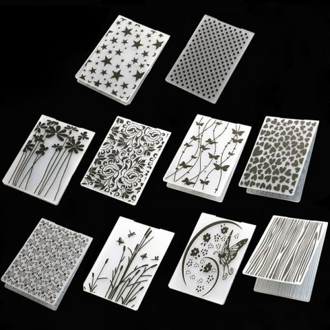 Plastic Template Making Paper Cards