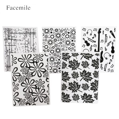 Plastic Template Embossing Folder