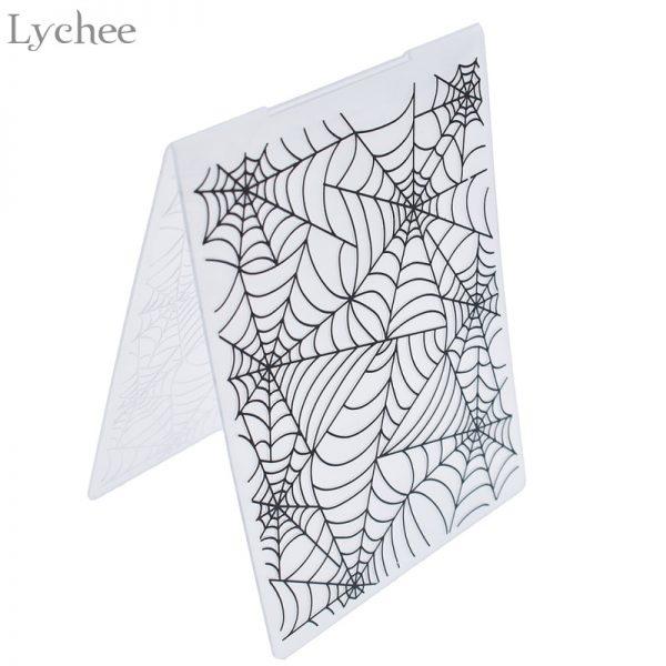 Plastic Embossing Folder For Scrapbook