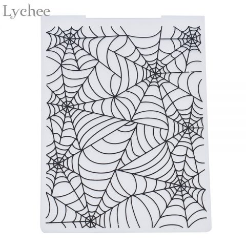 Plastic Embossing Folder For Scrapbook