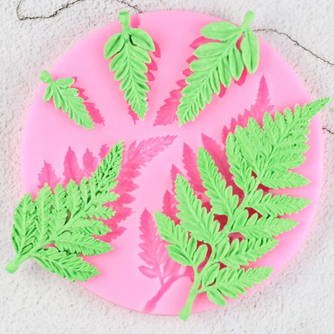 Sugarcraft Leaf Silicone Mold