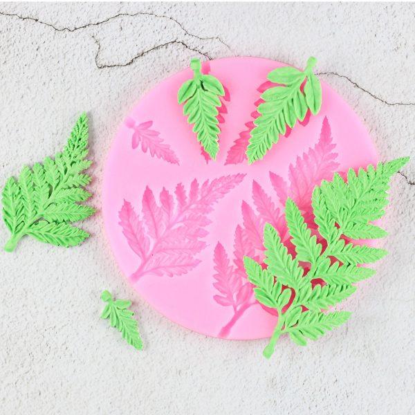 Sugarcraft Leaf Silicone Mold