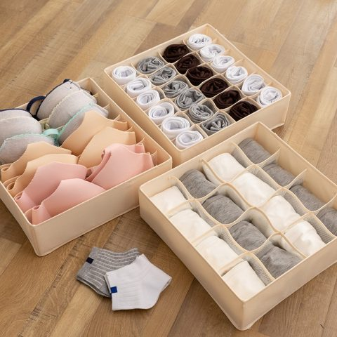 Dormitory Closet Organizer Foldable Drawer