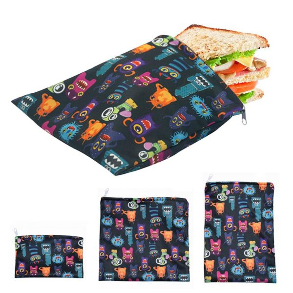 Reusable Food Storage Bags Freezer Bag