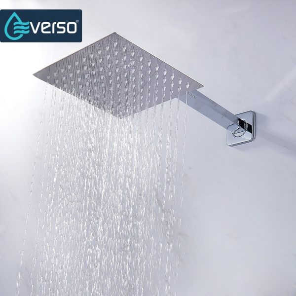 Rainfall Shower Head Stainless Steel