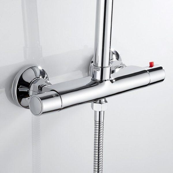 Bath Shower Faucet Mixer Valve Tap