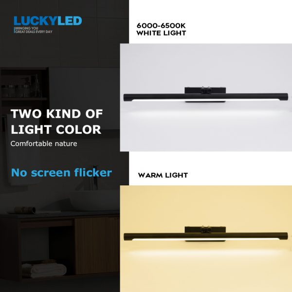 Modern LED Mirror Light Wall Lamp