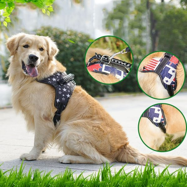 Breathable Mesh Pad Dog Harness