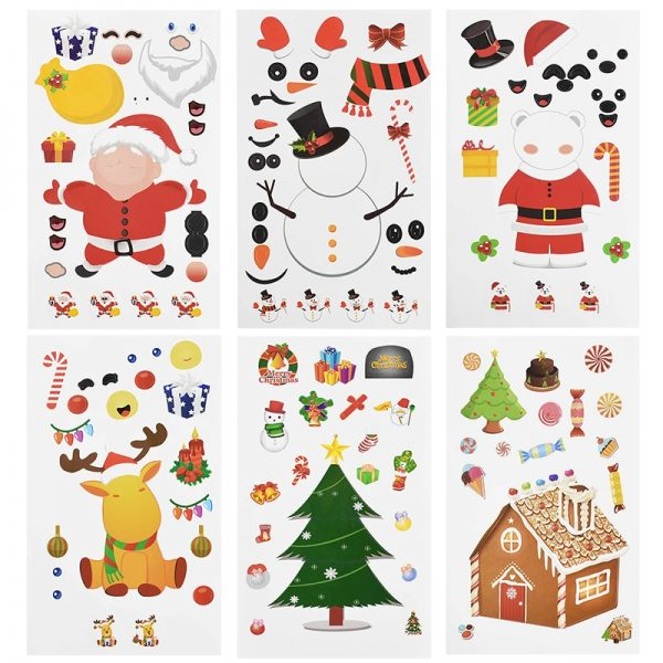 Christmas Sticker Santa Claus