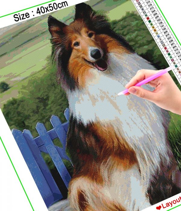 Animal Landscape Cross Stitch Photo