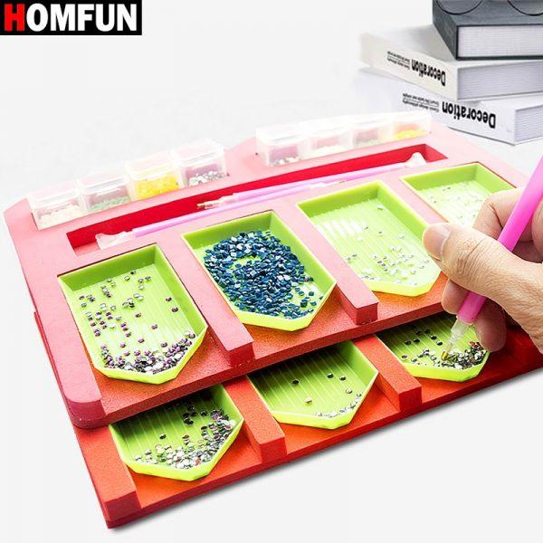 Diamond Painting Tray Organizer
