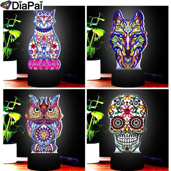 LED Lamp Diamond Painting 5D Light